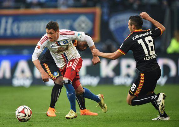 Hamburger+SV+v+Karlsruher+SC+Bundesliga+Playoff